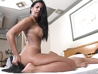 Cruel Face Fucking with Nanda Rios Cold Blooded Brazilian Domina