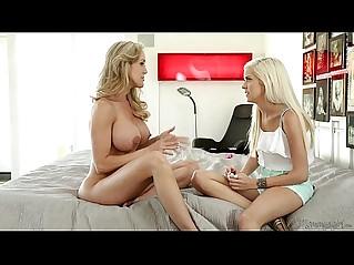 Halle Von and Brandi Love at Mommys Girl