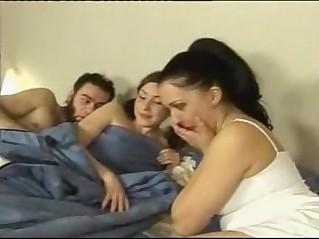 A russian lesbian three sex