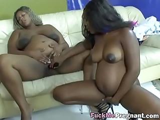 Fuckmepregnant six black girls lesbian pregnant orgy hi