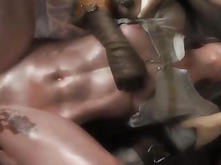 Witcher Ciri GangBang Blowjob DeepThroat ?? FULL Porn GAME