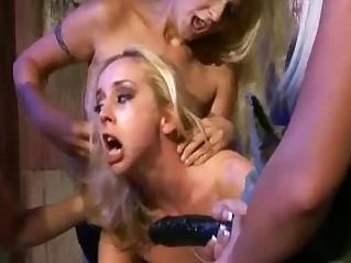 Lesbian gangbang