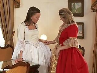 Zoe and Mya anal lesbian action on Sapphic Erotica