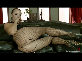 Four girl ass play and anal orgy