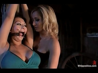 Hot asian girl drools and worships white lesbian ass
