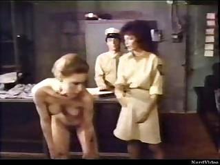 Frightened Girl Lesbian Prison Officer